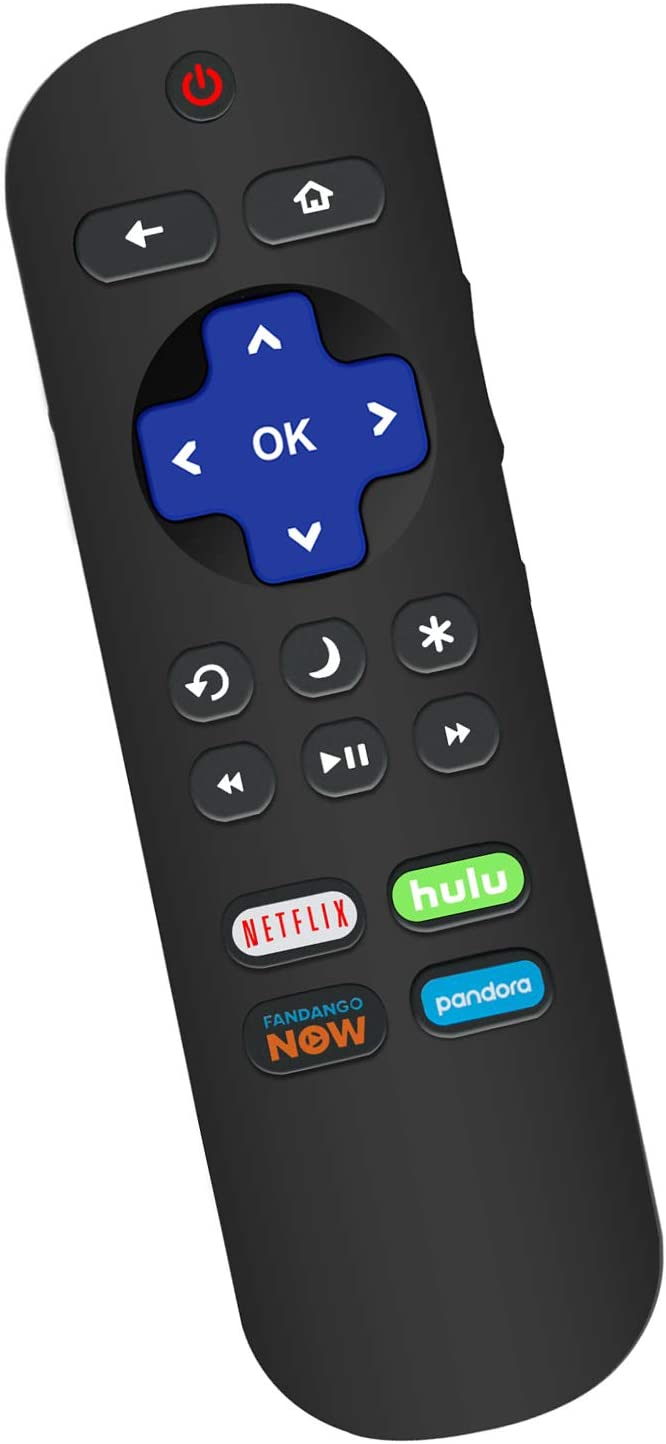 New Remote Control Applicable for RCA Roku TV RTR3260 RTR3261 RTU5540 RTR4060 RTR5060 RTR5061 RTRU5527 RTR3260-W RTRU5027-W RTR4360-W RTR4360 RTR4361 RTR4360US RTR4360US RTR3260US