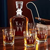 Oakmont Personalized Decanter Set with Whiskey Glasses (Customizable Product)