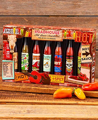 Roadhouse 7 Hot Sauce Assortment by Roadhouse