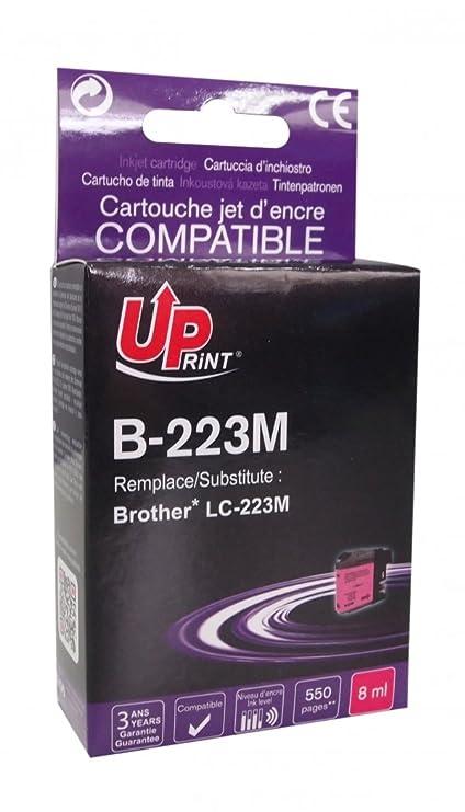 Cartucho Brother LC-223 - Magenta - Marca: Uprint b-223 m ...