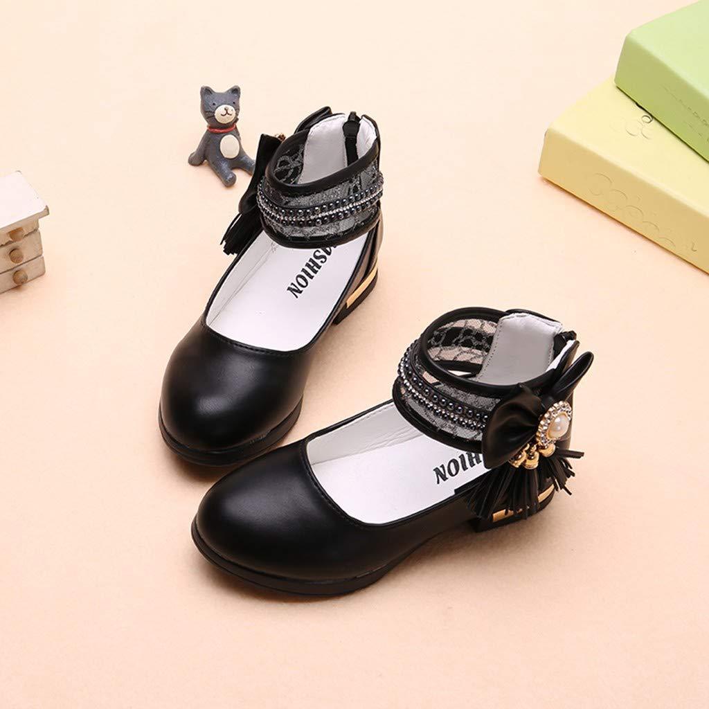 Tronet Toddler Sandals Boys//Girls Toddler Infant Kids Baby Girls Crystal Bowknot Single Princess Shoes Sandals