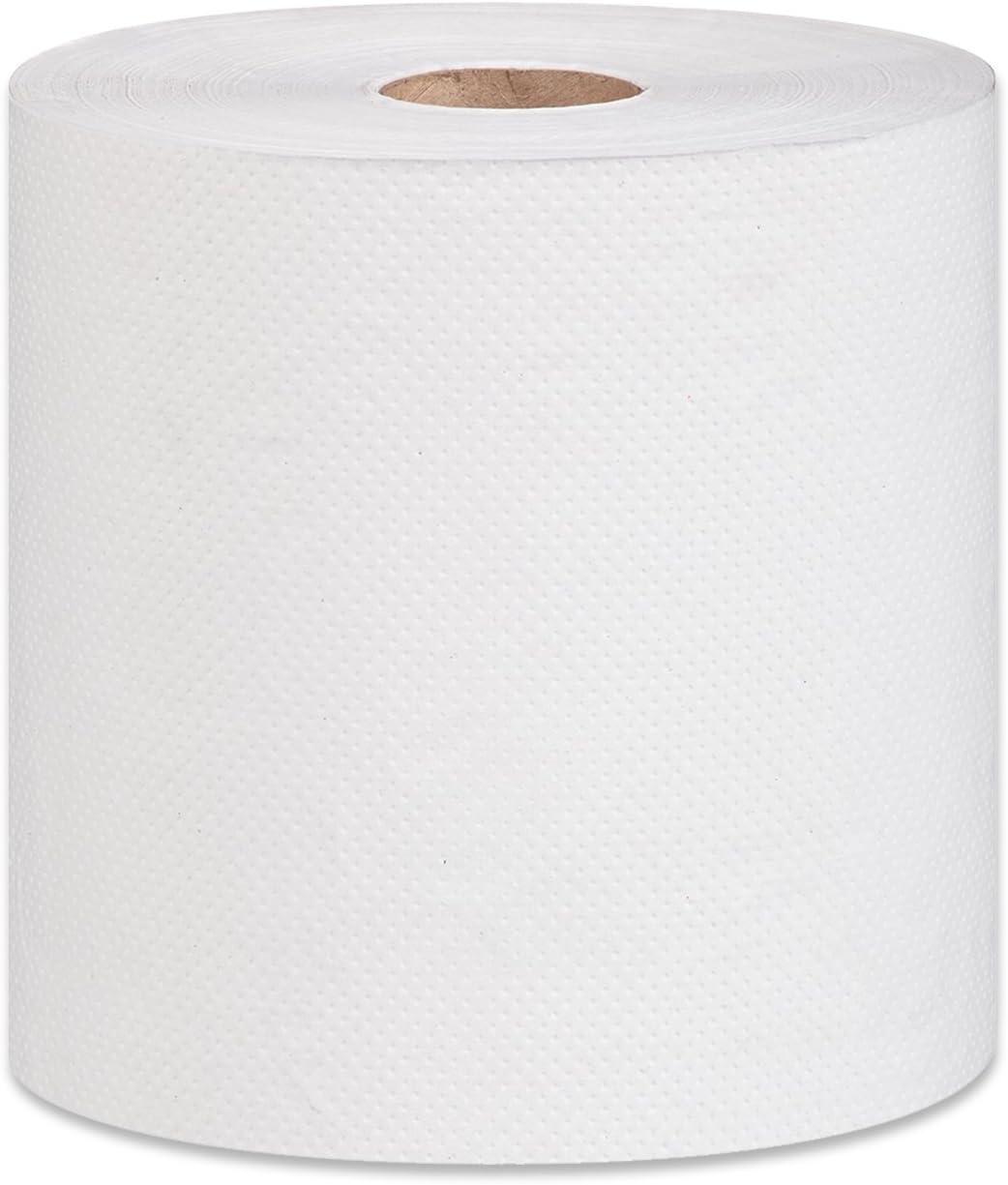 24 X Blanco Rollo De Cocina Toalla 2 capas papel de tejido blanco en relieve tan absorbente