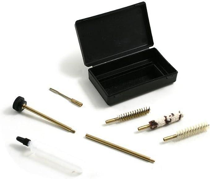 38//357//9/mm Format de poche 7pcs//set guguluza Pistolet 9/mm de nettoyage Kit de nettoyage pour cal