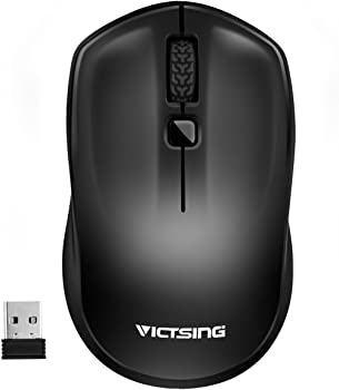 Victsing Mobile Cordless Mouse for Laptop