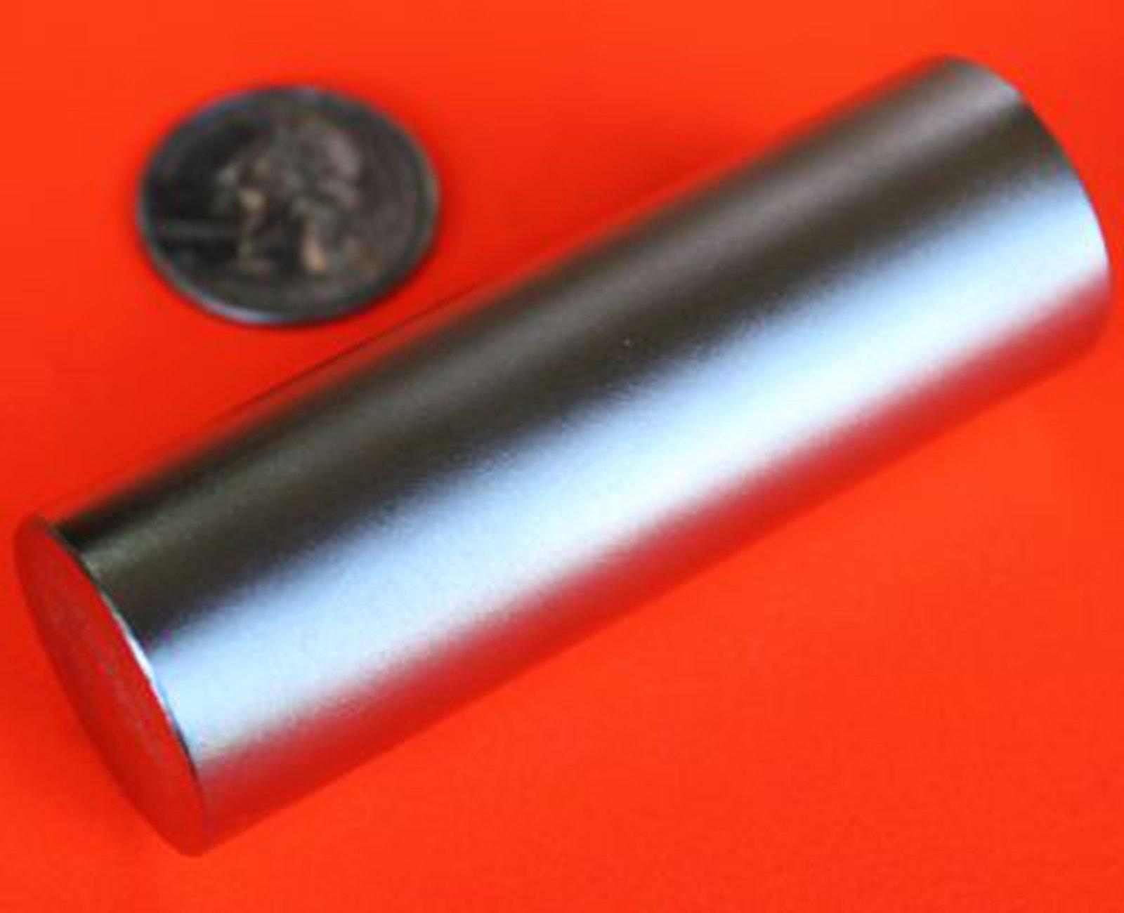 Applied Magnets 1 Piece 3/4'' x 3'' Grade N42 Neodymium Disc Magnet