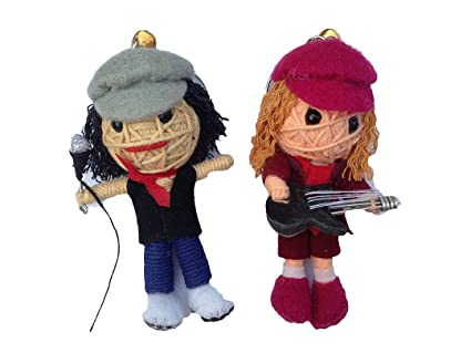 String Doll World Angus Young & Brian Johnson of AC/DC Set 2 ...