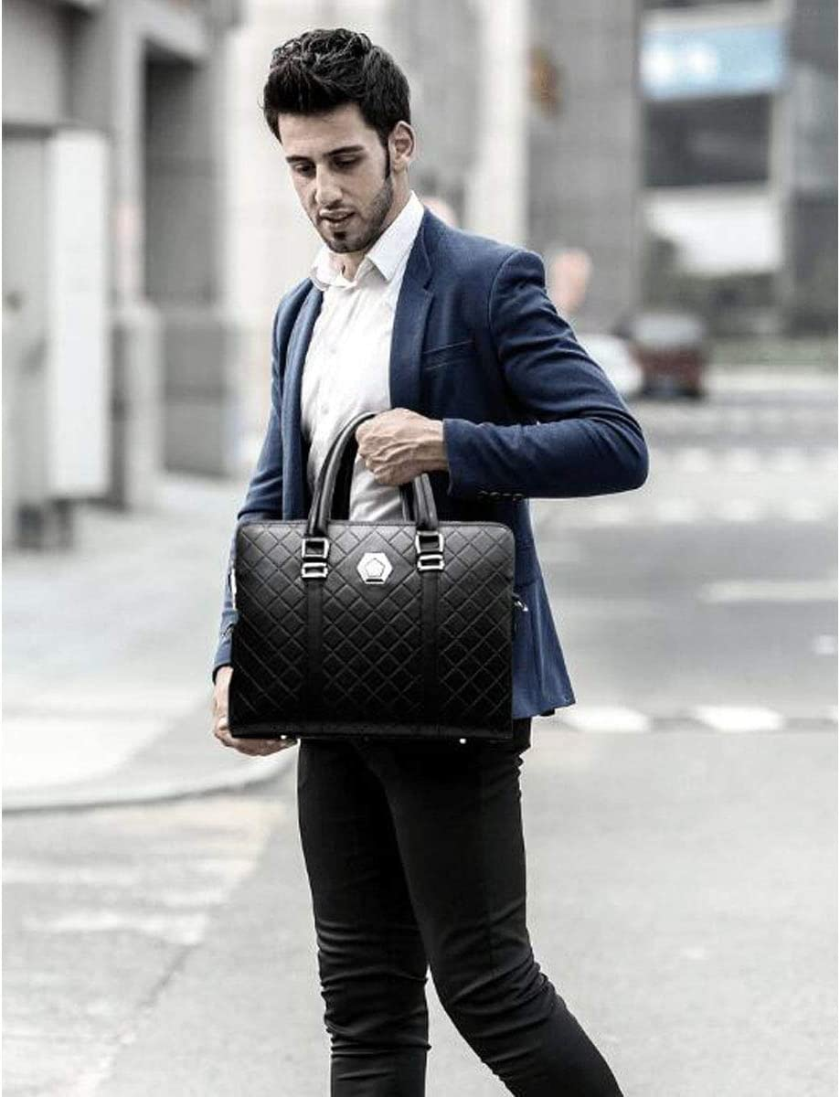Size: 38828cm XIAOXIAN Briefcase Color : Blue Mens Portable Business Computer Bag for 14-inch Laptops