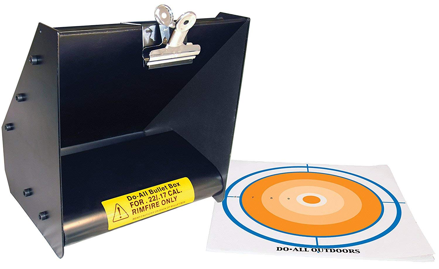 Do-All Outdoors - Bullet Box, Rated for .22/.17 Caliber (2-Units)