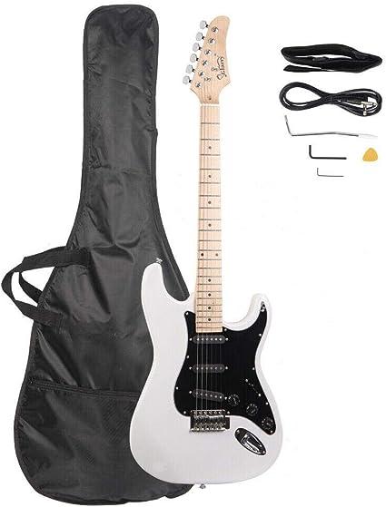 GLARRY- Guitarra eléctrica diestra, 8 colores, con bolsa y ...