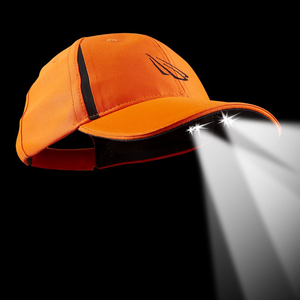 Panther Vision LED Hat 25//10 Ultra-Bright Lighted Battery Powered Headlamp Krpyek Typhone Structured