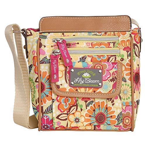 Lily Bloom Jamie Crossbody Bag (BUSY BEE)