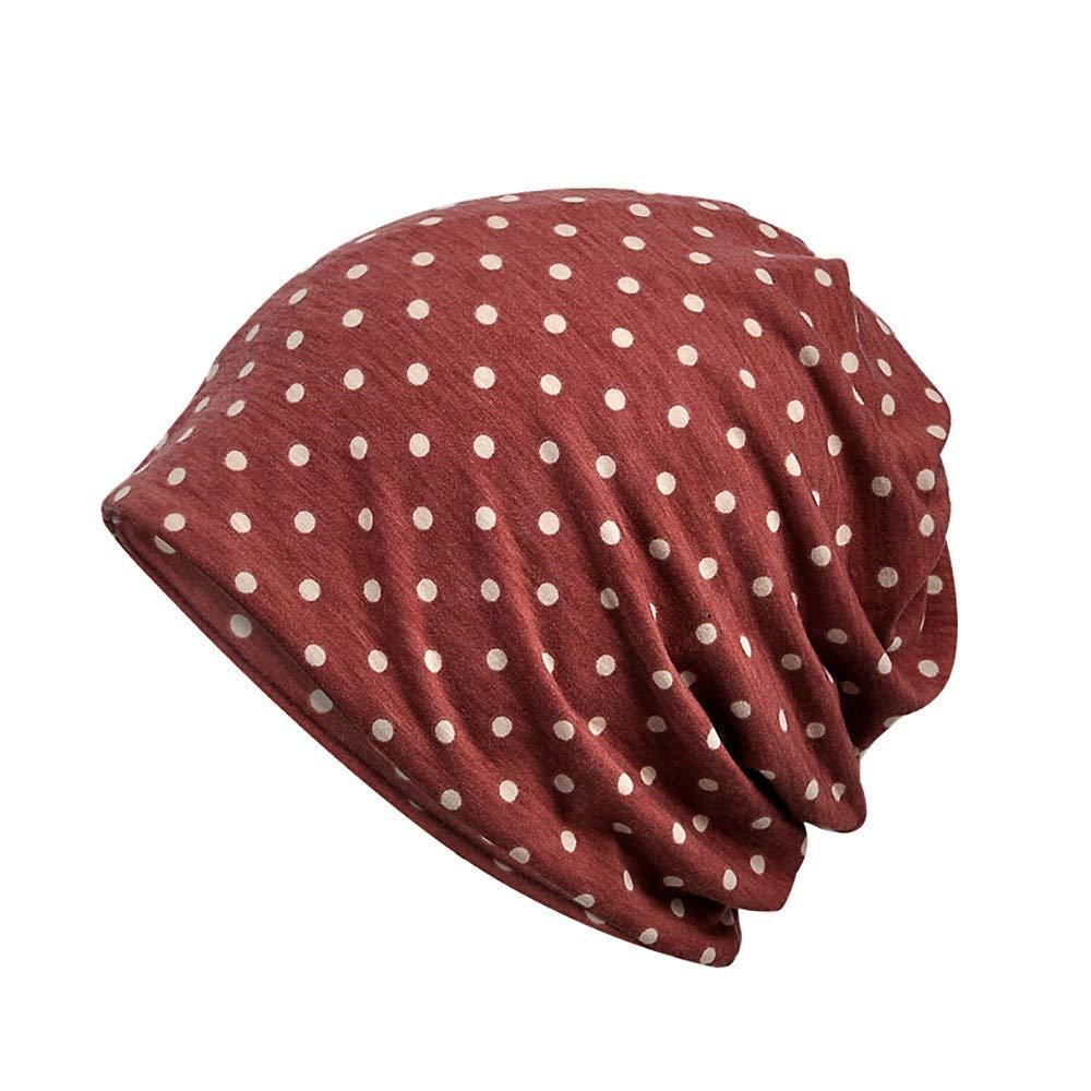 JURTEE Frau Indien Muslim Strecken Turban Hut M/ützen Herren Damen Baumwolle Slouch Beanie M/ütze Cap Kopfbedeckung Set f/ür Sport Schlaf 27X28CM
