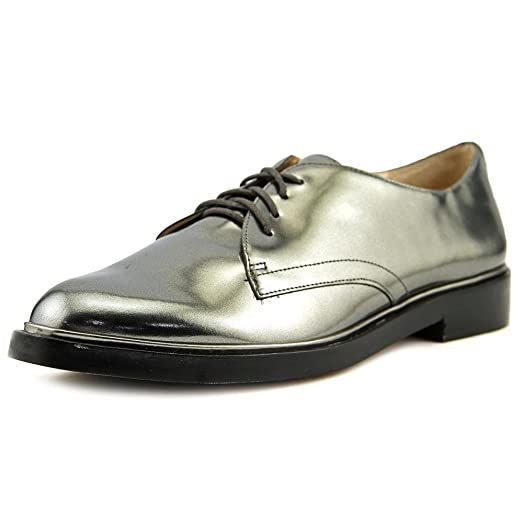 high quality for sale outlet genuine Vince Leather Round-Toe Oxfords best prices cheap price 6m78G