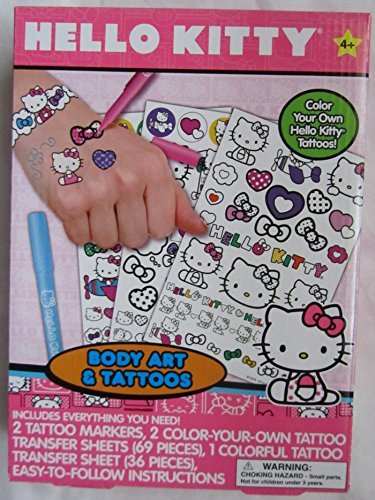 Hello Kitty Tattoos (Hello Kitty Body Art & Tattoos)