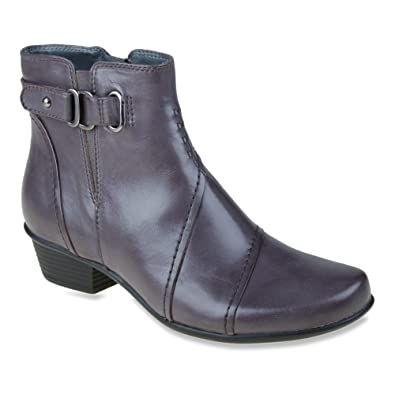 Earth Womens Black Boots Leather Atlas Calf