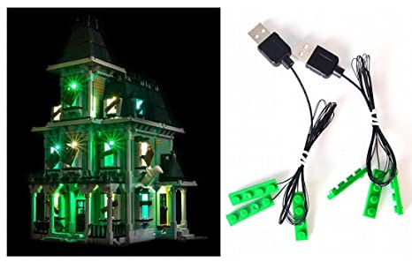 Kit di illuminazione led per lego haunted house anche lego