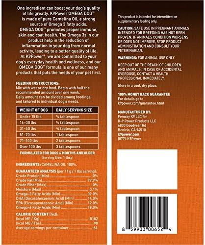 Pets Primal K9-Power Omega Dog – Healthy Pure Organic Omega3-32 Ounce