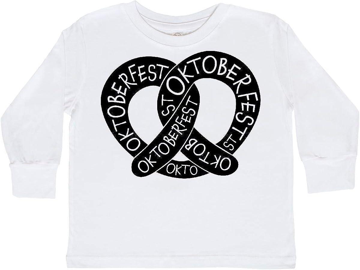 inktastic Oktoberfest Pretzel Toddler Long Sleeve T-Shirt