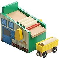 Estaciones de tren de juguete para niños