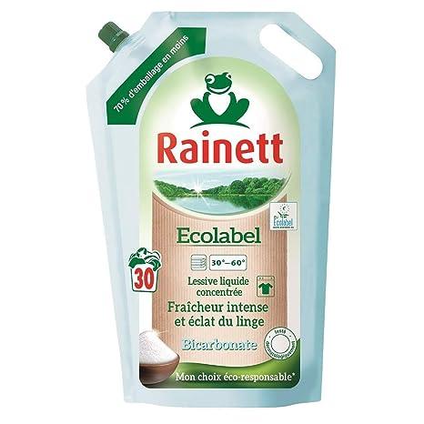 Rainett Ecolabel - Detergente líquido Concentrado, frescor ...
