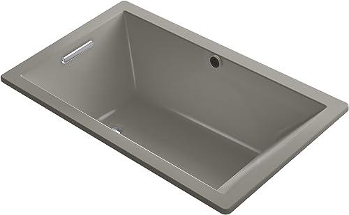KOHLER K-1848-K4 Underscore 60-Inch x 36-Inch Drop-In Bath