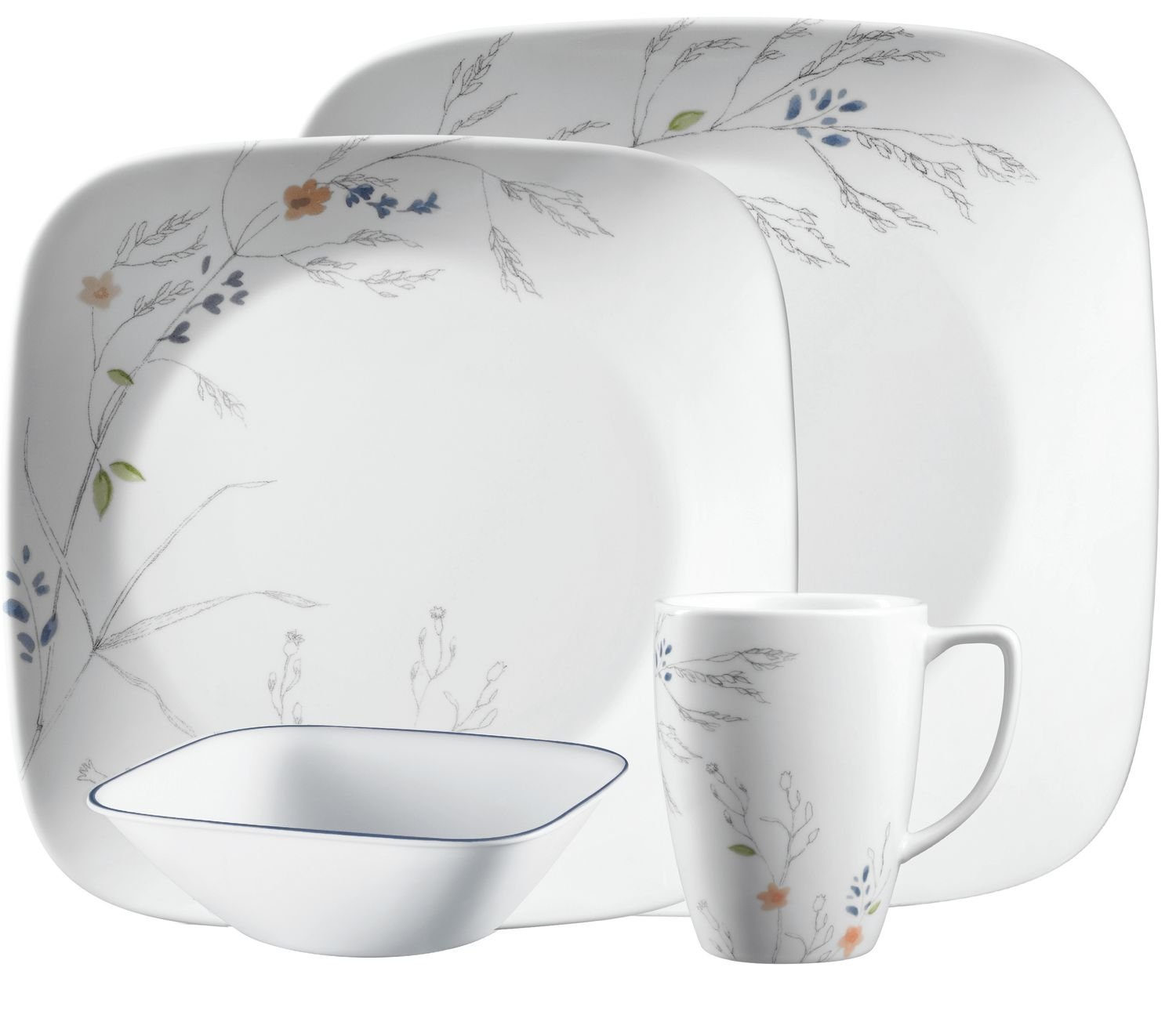 Amazon.com | Corelle Boutique Adlyn 16-pc Dinnerware Set: Dinnerware Sets