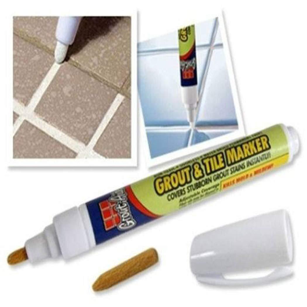 Dieron Blanc carrelage de sol en cé ramique ré paration Joint marqueur Maison de cuisine