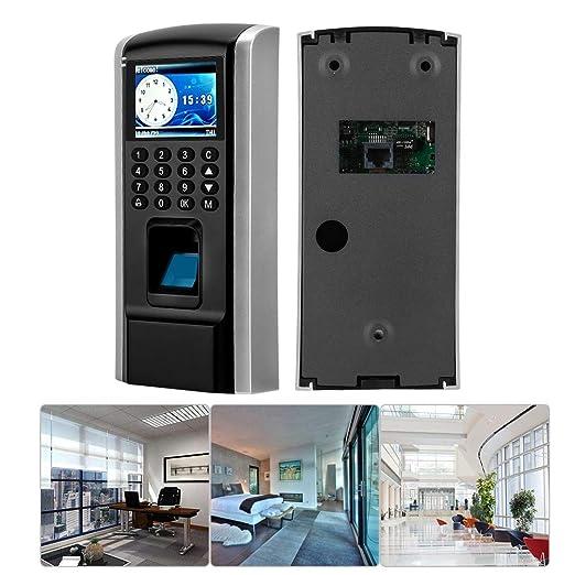 Sistema de Control de Acceso, TCP IP LCD Huella Digital Contraseña ...