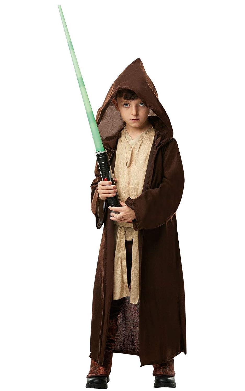 Rubies - Bata infantil con capucha oficial de Disney Star Wars Jedi