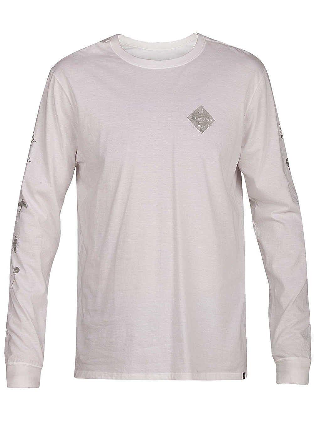 Hurley AA5331 Men's Glyphs Long Sleeve T-Shirt