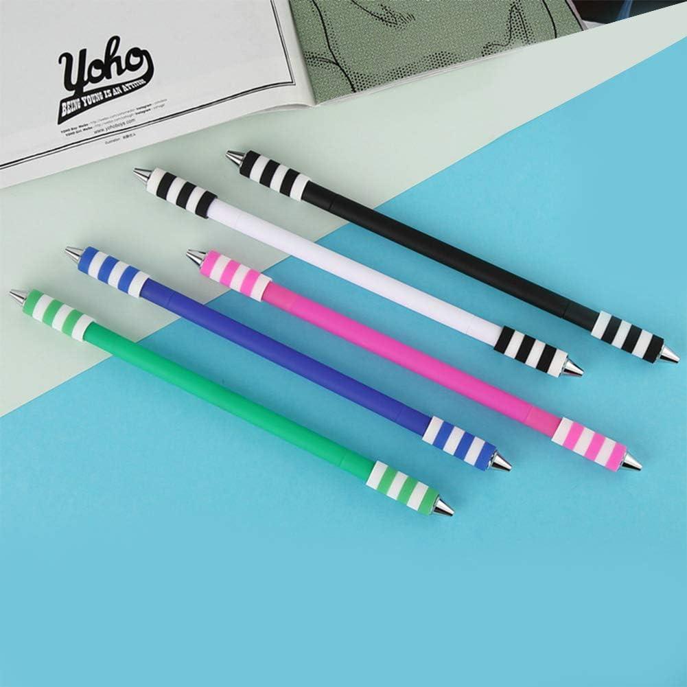 DragonPad Spinning Pen Nonslip Broken Resistant Smooth Writing Rotating Pen Toy Studentin kugelschreib Office Rolling Pen G1 black