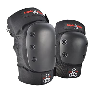 Triple Eight Park Skateboarding Pad Set with KP 22 Knee Pads and EP 55 Elbow Pads : Skate And Skateboarding Knee Pads : Sports & Outdoors