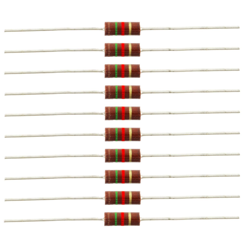 Lot of 10 160 Ohm 1//2W 5/% Carbon Composition Resistor Carbon Comp 500mW