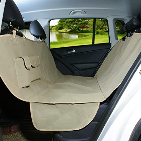 Durable Water Dirt Oil Resistant Nylon Car Protection Front Seat Covers Black