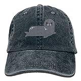 GqutiyulU Cute Seal Adult Cowboy Hat Navy
