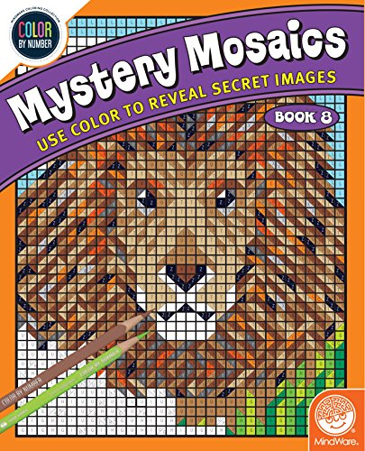 MindWare Color by Number Mystery Mosaics: (Book 8)