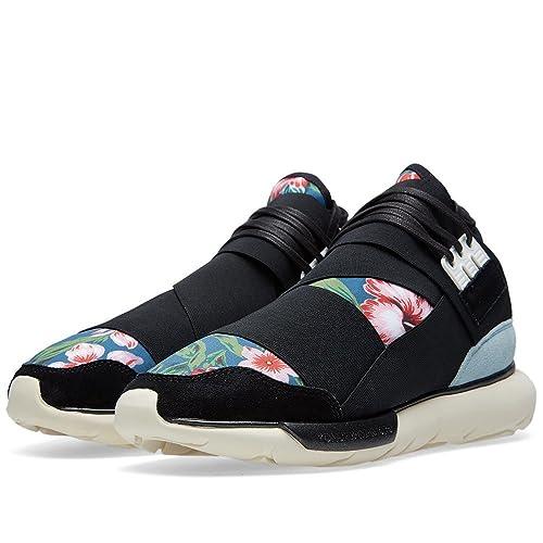 de6502ca3 Adidas Y-3 QASA HIGH Men s Black Floral B25187 (SIZE  12)  Amazon.ca ...