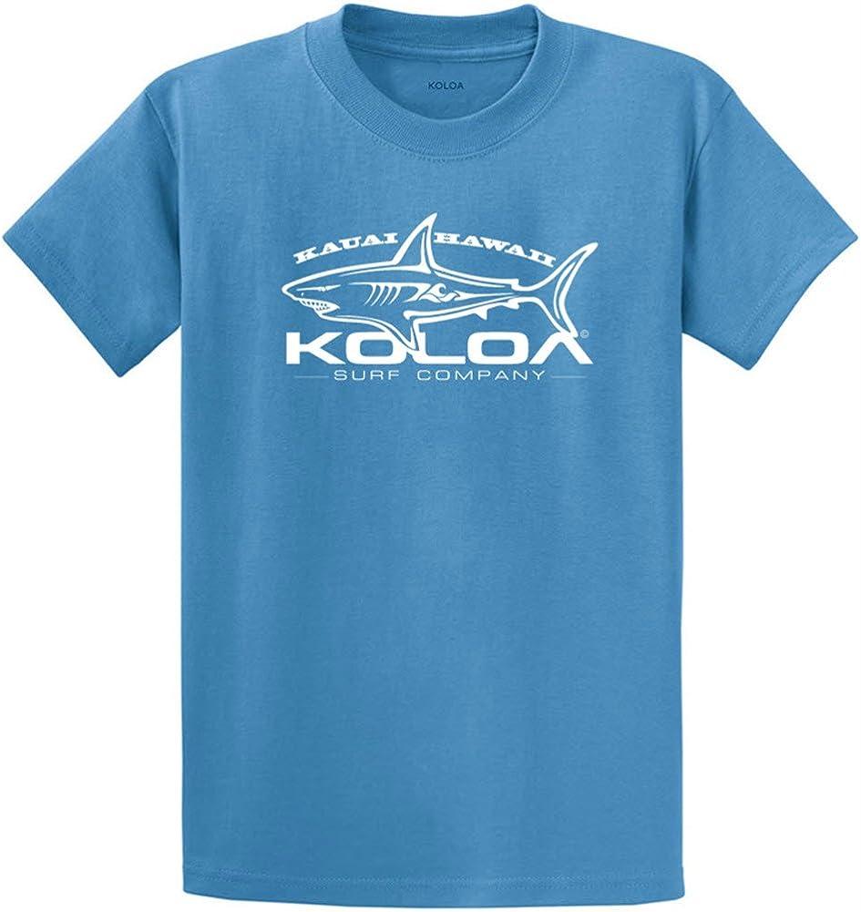 Koloa Surf Great White Shark T-Shirts in Regular, Big & Tall