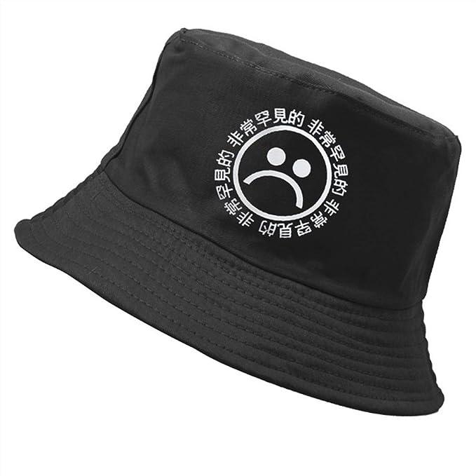 dcfb299ac32d9 2019 New Flat Fishman Hat Summer Vintage Bucket Hat Sad Boys Men Women Hip  Hop Fishing