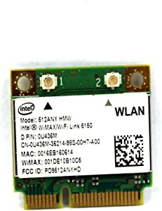 Dell Latitude E6400 E6410 Wireless WLAN Card 802.11n U436M