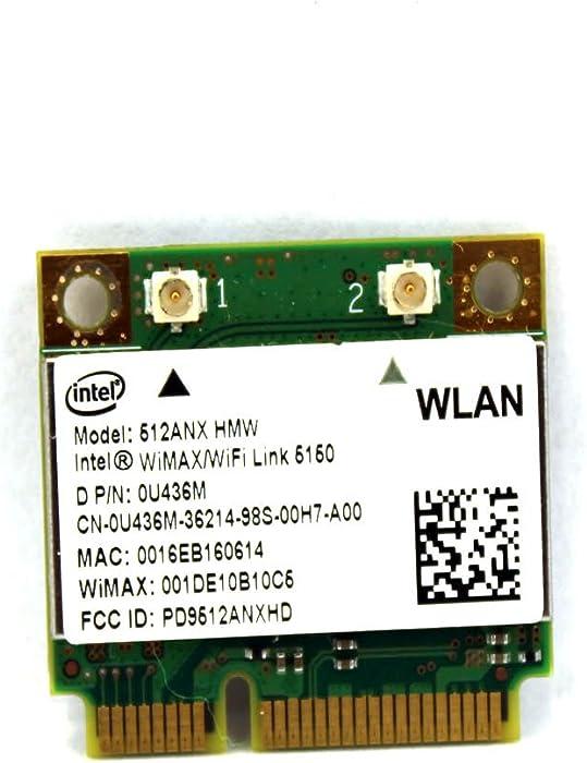 Dell Latitude E6400 E6410 Wireless WLAN Card 802.11n U436M