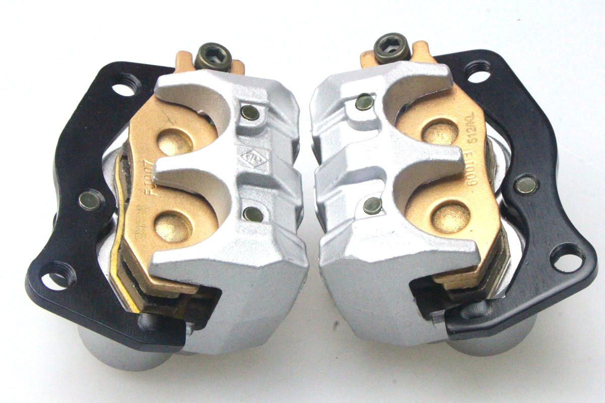 New LEFT & RIGHT FRONT BRAKE CALIPER SET FOR YAMAHA RHINO 660 450 YXR 660 2004-2007