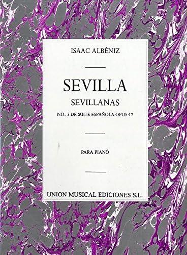 Albeniz Sevilla Sevillanas No.3 De Suite Espanola Piano ...