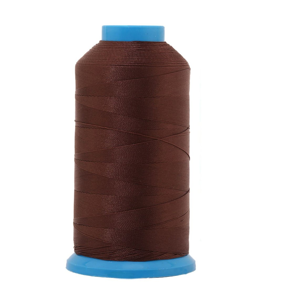 Yoker Bonded Nylon Sewing Thread 1500 Yard Size T70#69 Works with All Embroidery Machines Leather Bag Shoes Canvas Brown