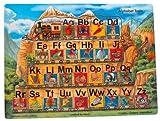 : Alphabet Train Peg Puzzle