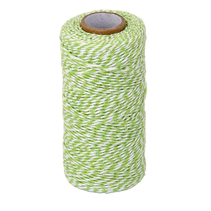 Amazon.com: ULTNICE Cotton String Cord Bakers Twine Rope Glass Bottle Gift Box Decor Craft 100m: Arts, Crafts & Sewing
