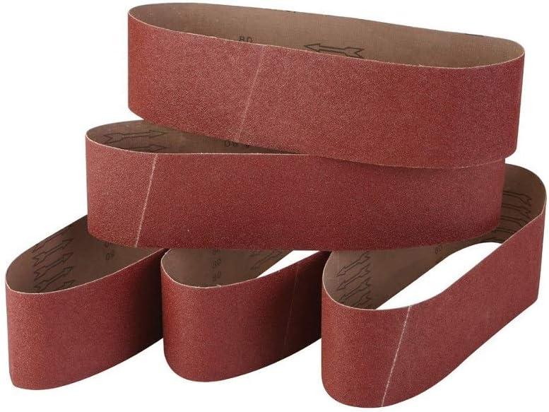 Silverline Sanding Belts 10 x 330mm 5pk 60 Grit 364425