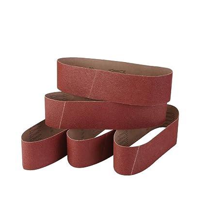 Amazon.com: Cinturones de lija Zivisk, granos 60/80/100/120 ...