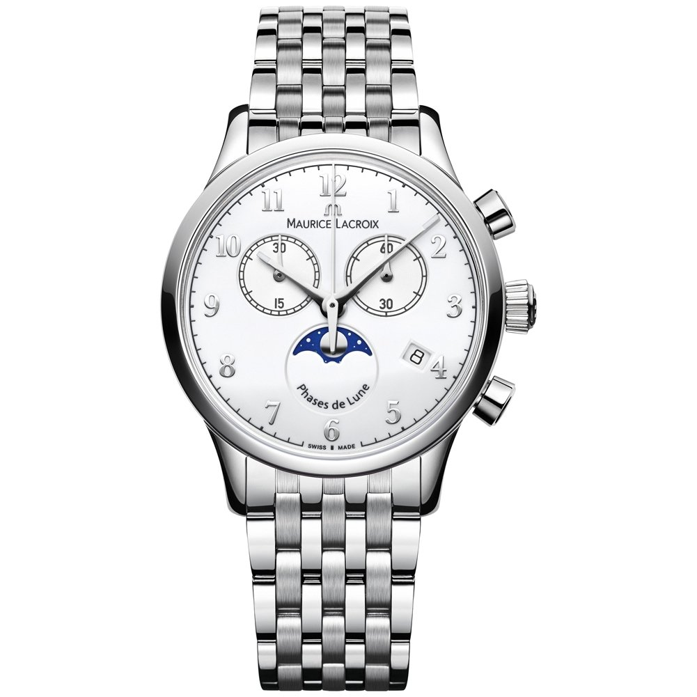Maurice Edelstahl Armband Mit Lacroix Uhr Damen Quarz Lc1087 Analog hrQsCxtd