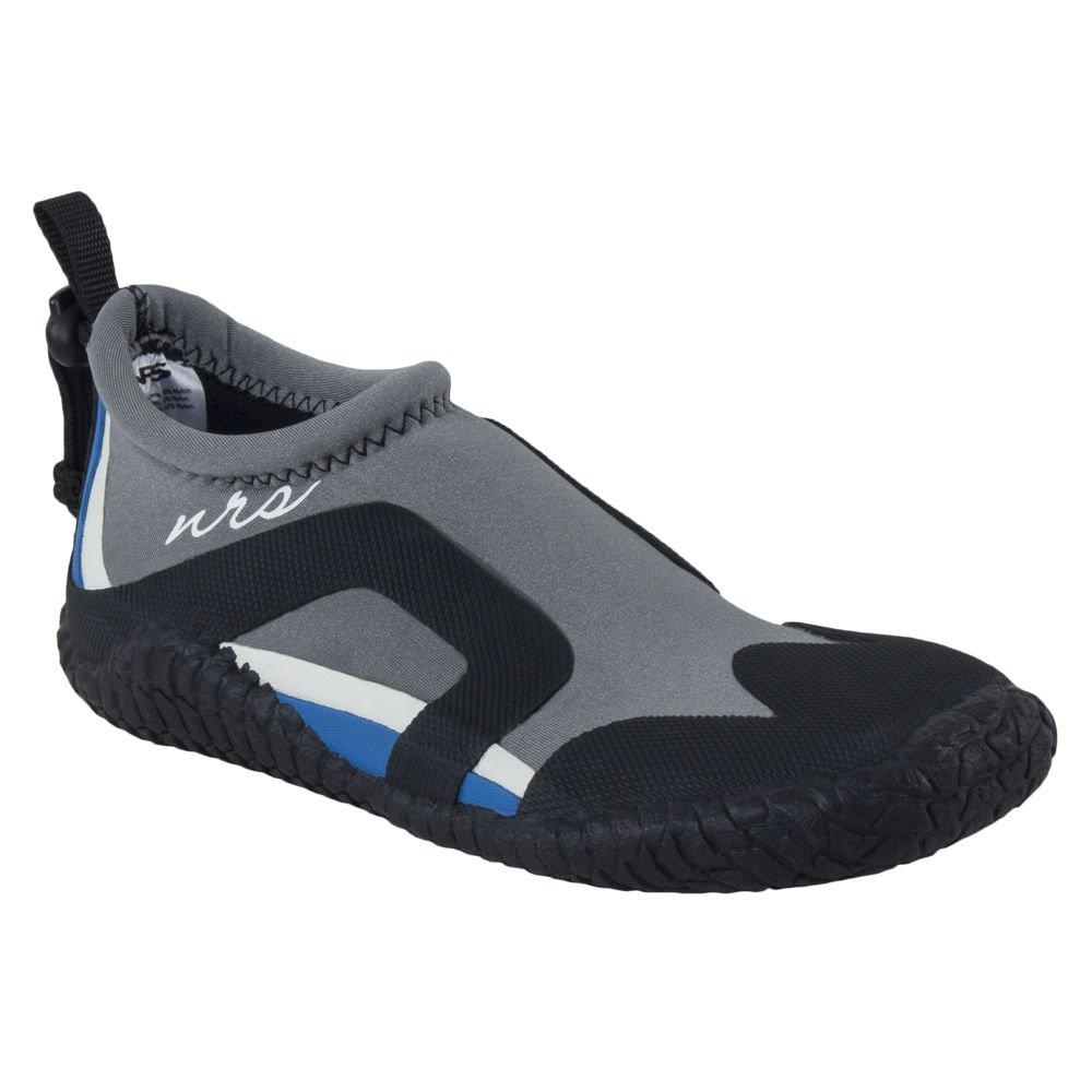 NRS Women's Kicker Remix Wetshoes-Gray/Black-7 by NRS
